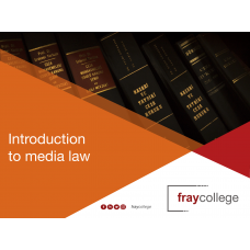 Introduction to Media Law