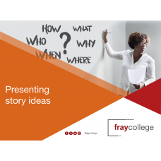 Presenting Story Ideas